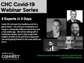 Covid-19 Preparedness Webinar Series Invite